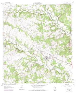 Liberty Hill topo map