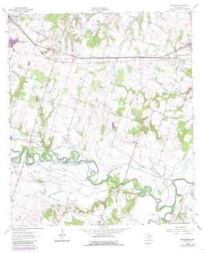 Pettibone topo map