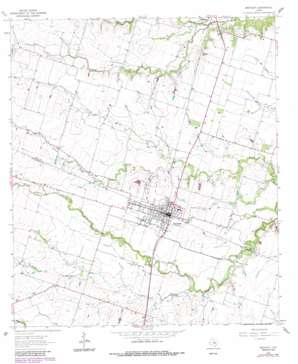 Bartlett topo map