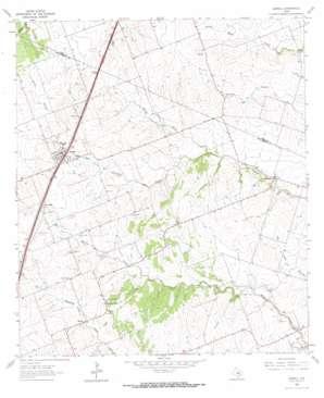 Jarrell topo map