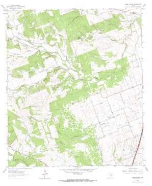 Cobbs Cavern topo map
