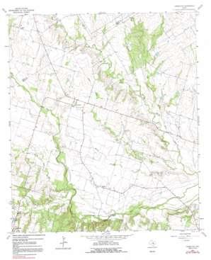 Yarrelton topo map