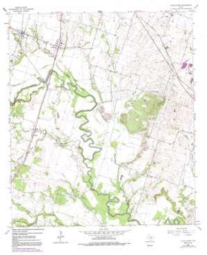 Little River topo map