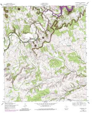 Youngsport topo map