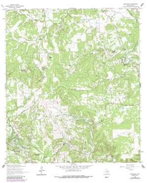Driftwood topo map