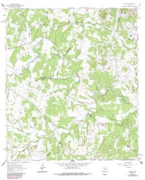 Payton topo map