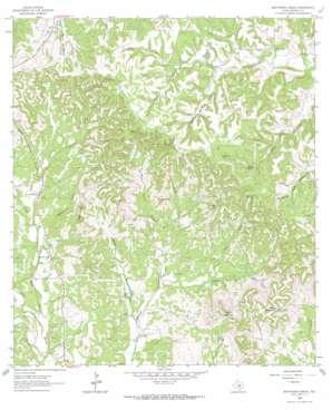 Whitworth Ranch topo map