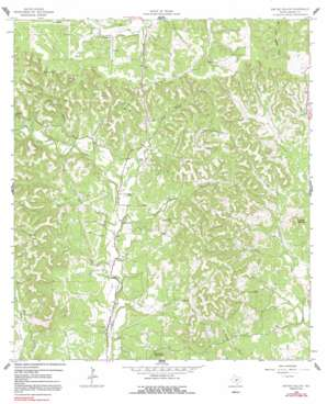 Rafter Hollow topo map