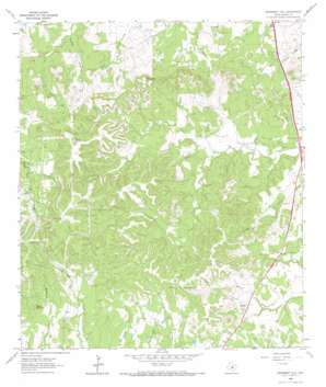 Monument Hill topo map