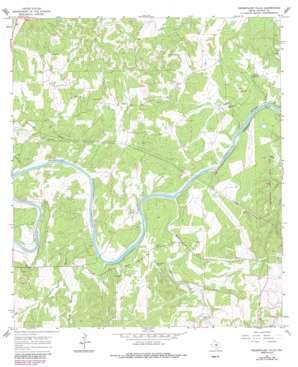 Pedernales Falls topo map
