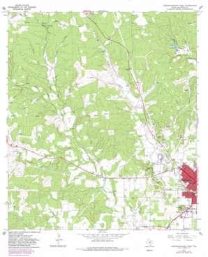 Fredericksburg West topo map