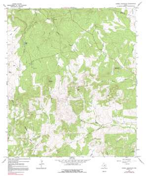 Howell Mountain topo map