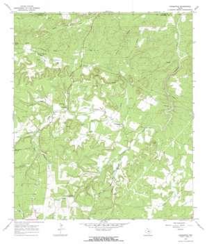 Crabapple topo map