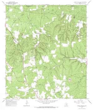 Cherry Mountain topo map