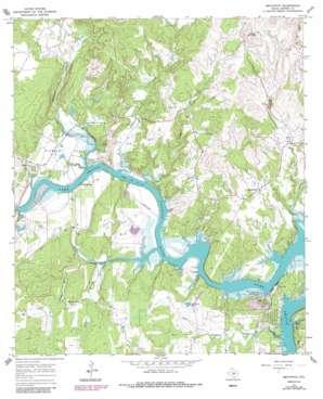 Smithwick topo map