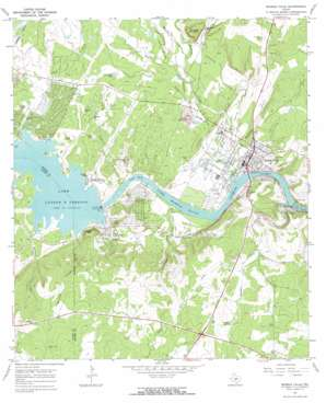 Marble Falls topo map