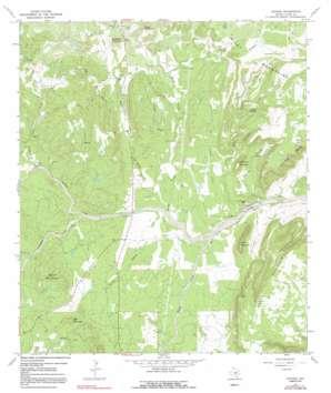 Oxford topo map