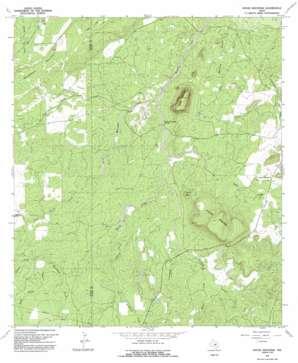 House Mountain topo map