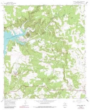 Council Creek topo map