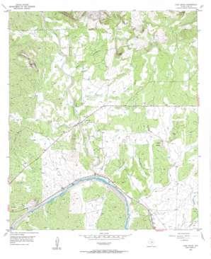 Lone Grove topo map