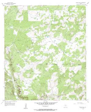 Indian Hills topo map