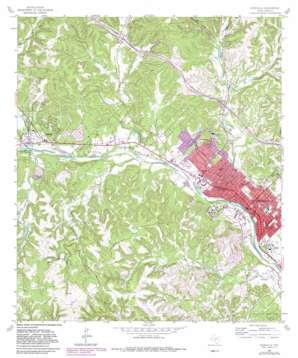 Kerrville topo map