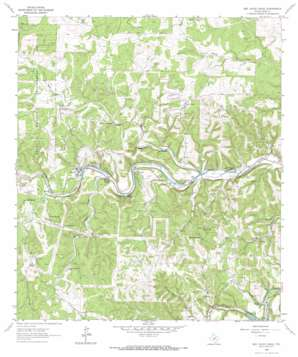 Bee Caves Creek topo map