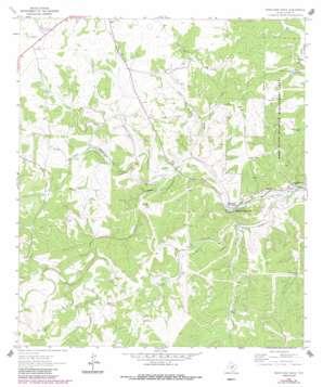 Boneyard Draw topo map