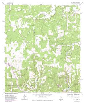 Nott Branch topo map