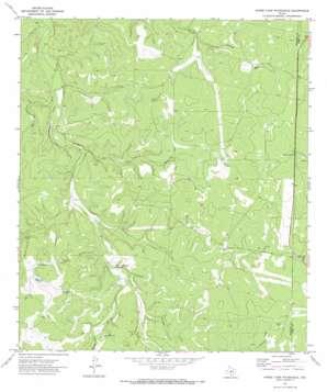 Horse Camp Waterhole topo map