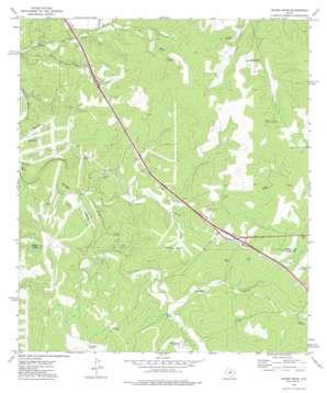 Mudge Draw topo map