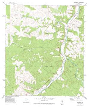 Telegraph topo map