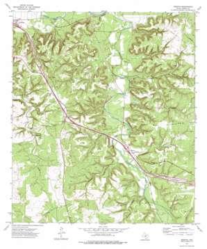 Segovia topo map