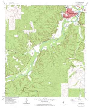 Junction topo map