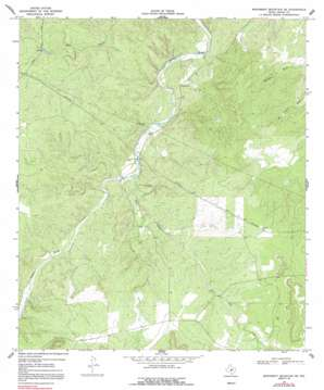 Monument Mountain Se topo map