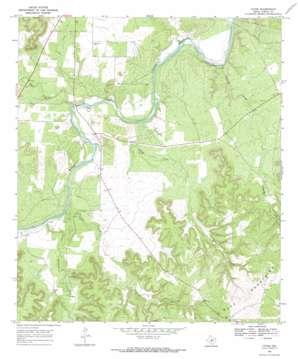 Yates topo map