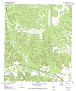 Elm Slough topo map