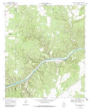 Sheep Run Creek topo map