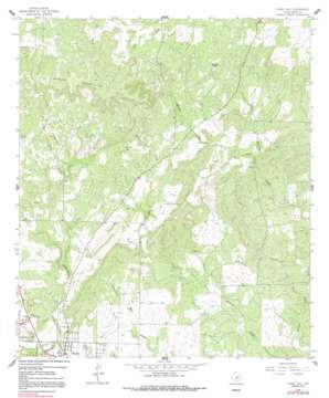 Purdy Hill topo map