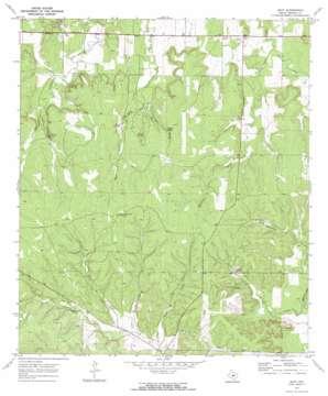 Hext topo map