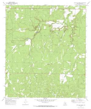 East Elm Creek topo map