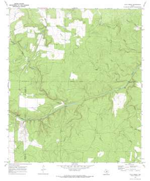 Calf Creek topo map
