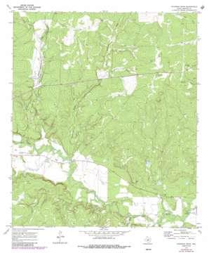 Chapman Draw topo map