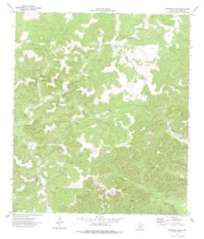 Robinson Draw topo map