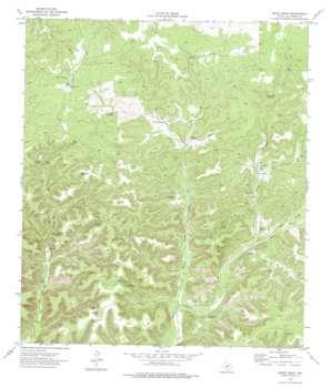 White Draw topo map