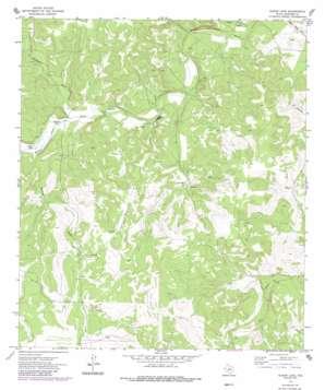 Elbow Lake topo map