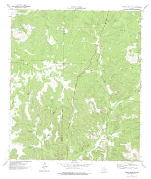 Turney Draw Nw USGS topographic map 30100b6