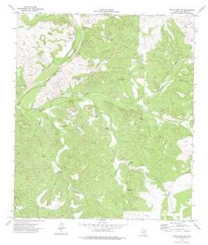 White Draw Nw topo map