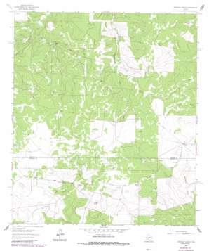 Stewart Ranch topo map
