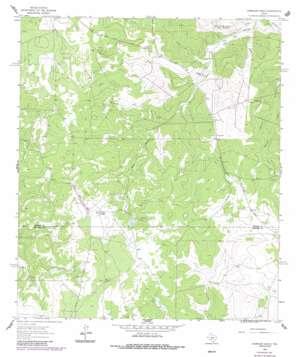 Harrison Ranch topo map